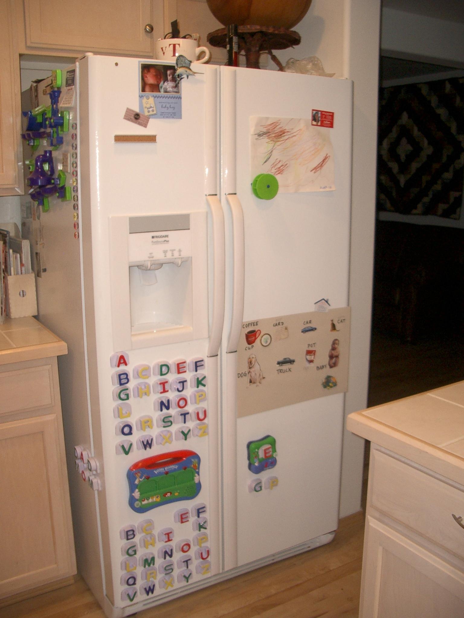 Our refrigerator